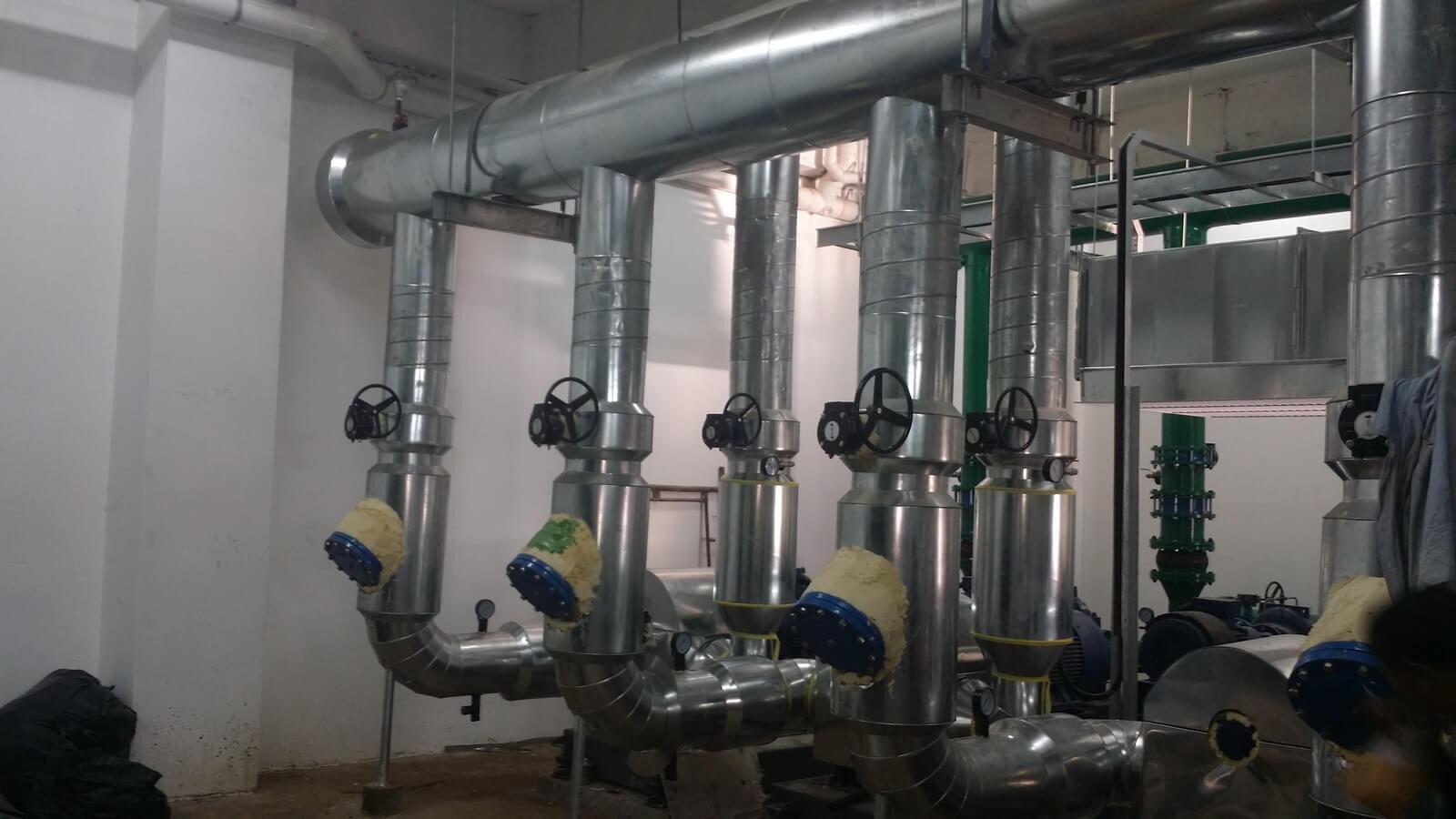 Chiller And Pump Piping Gandahan Sdn Bhd