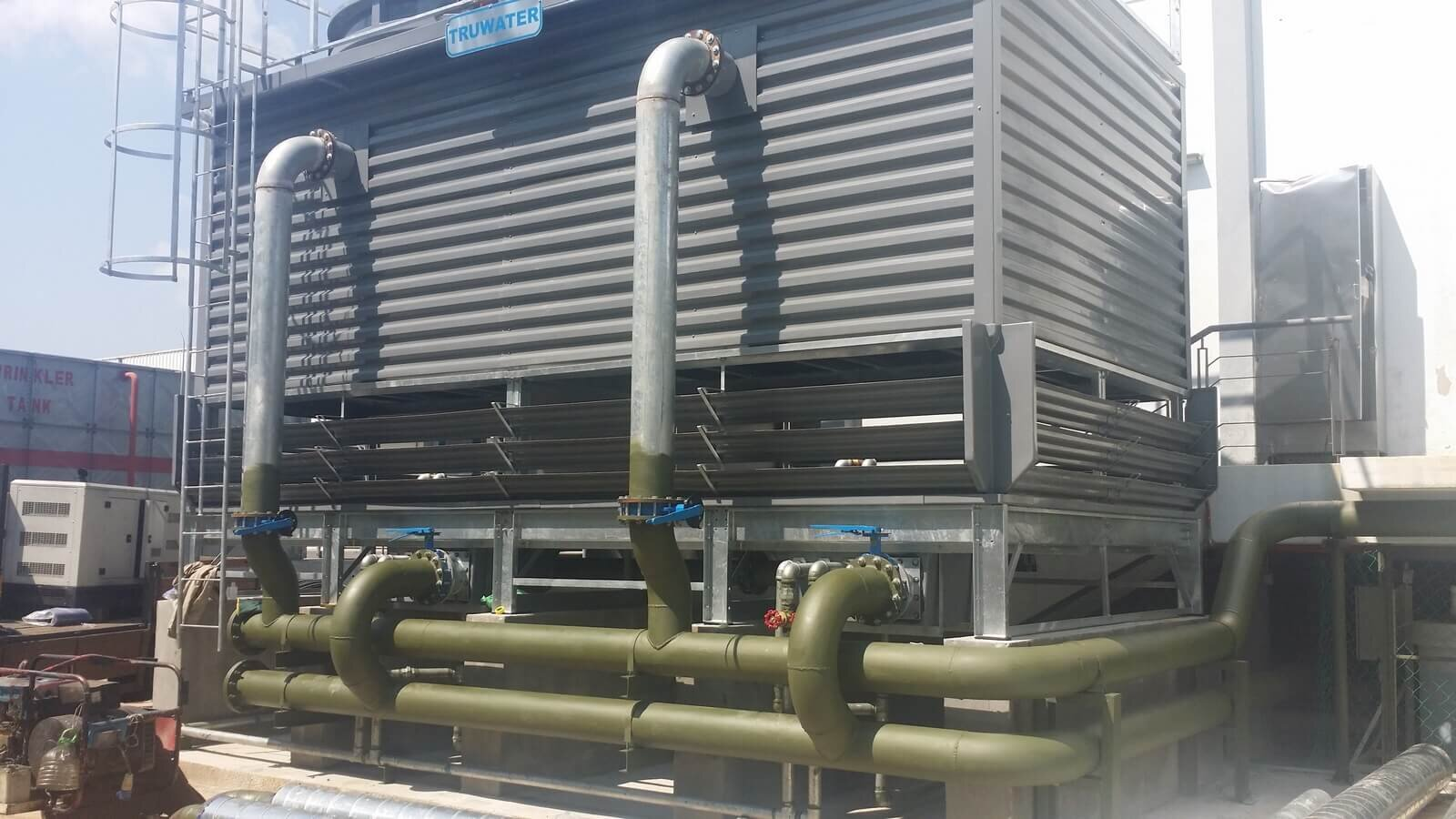 Cooling Tower: Cooling Tower Piping