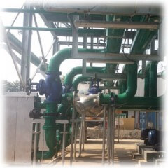 Process Cooling Water Piping
